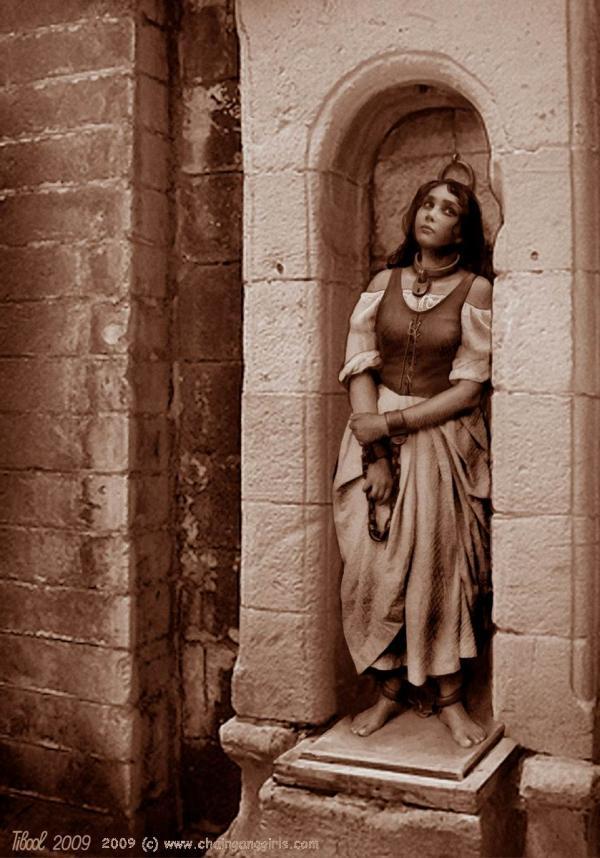 рабыни рима в кандалах франции
